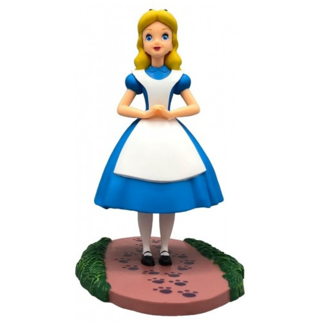 Figura Alicia en el País de las Maravillas 10,4cm