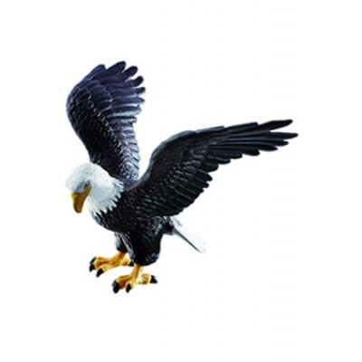 Figura Águila calva 13  cms.
