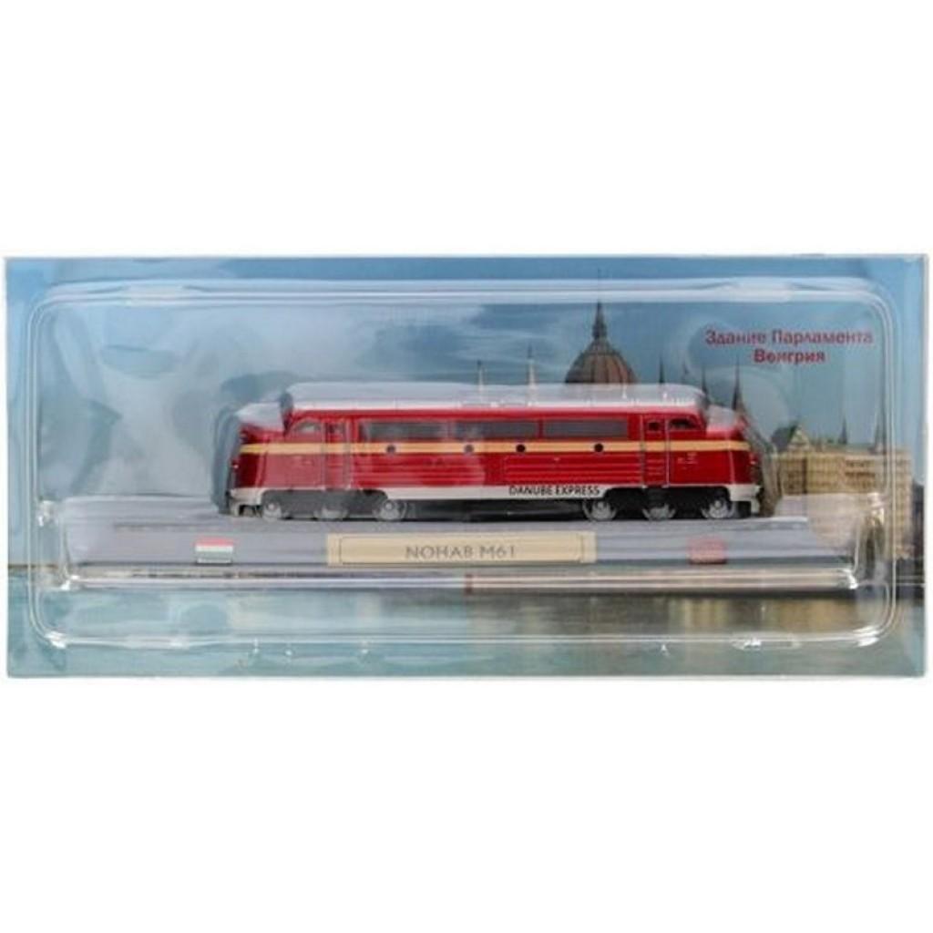 Locomotora Danubio Express NOHAB M61 Estático 12 cms.