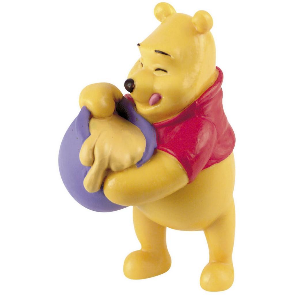 Figura Winnie The Pooh miel Disney 6,5 cms.